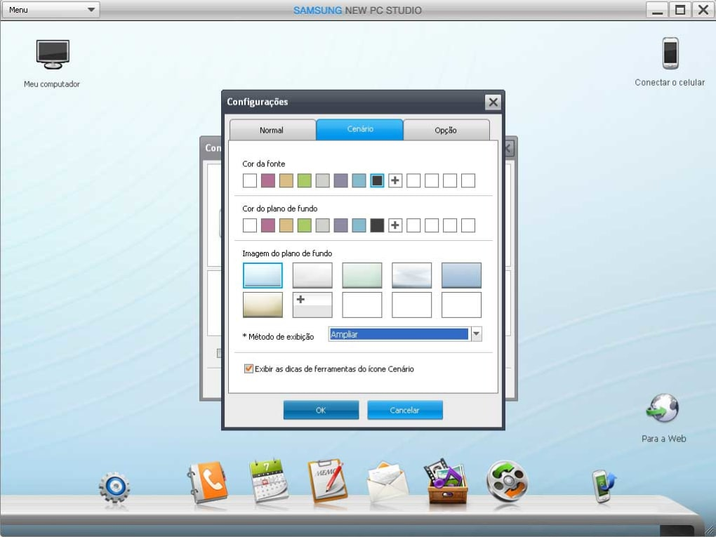 Free download Samsung PC Studio 3.2.1 for Windows 10. Samsung PC Studio is a program that allows you to manage your mobile phone from your computer. This is the original software provided by the manufacturer of Samsung mobile phones. The program can connect via a USB cable, IRDA or via Bluetooth. The applica