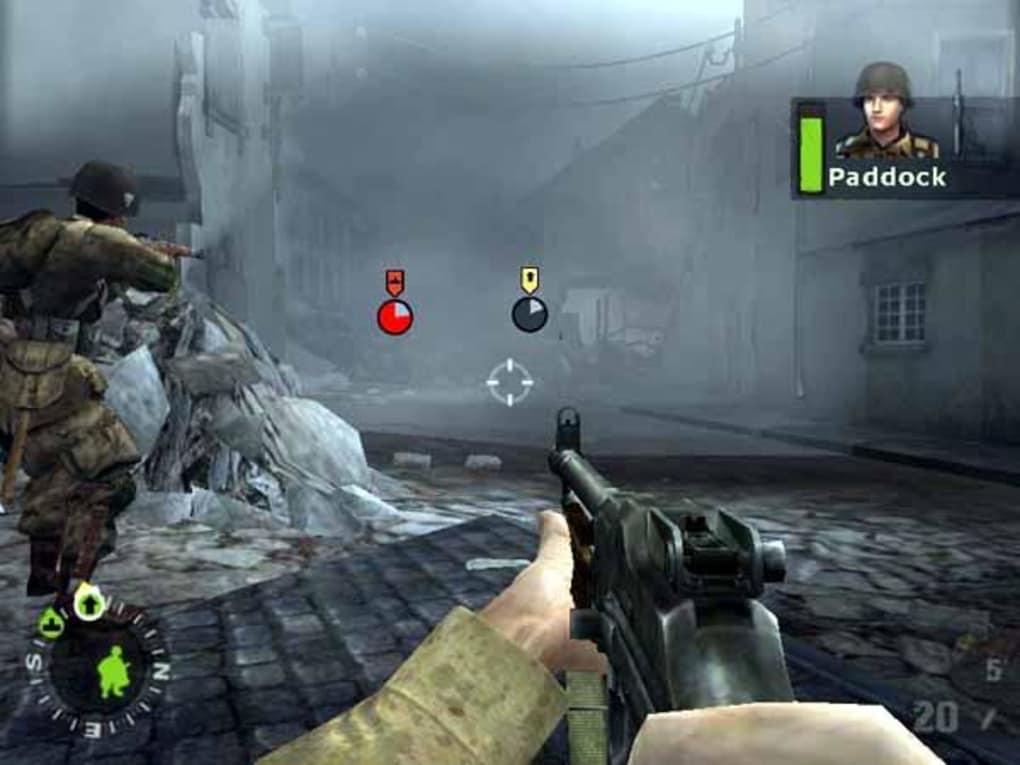 This means you can play Brothers in Arms 3: Sons of War on PC and Mac as often as you wish. No waiting around for better internet signals or worrying about wasting money through your mobile data plan.