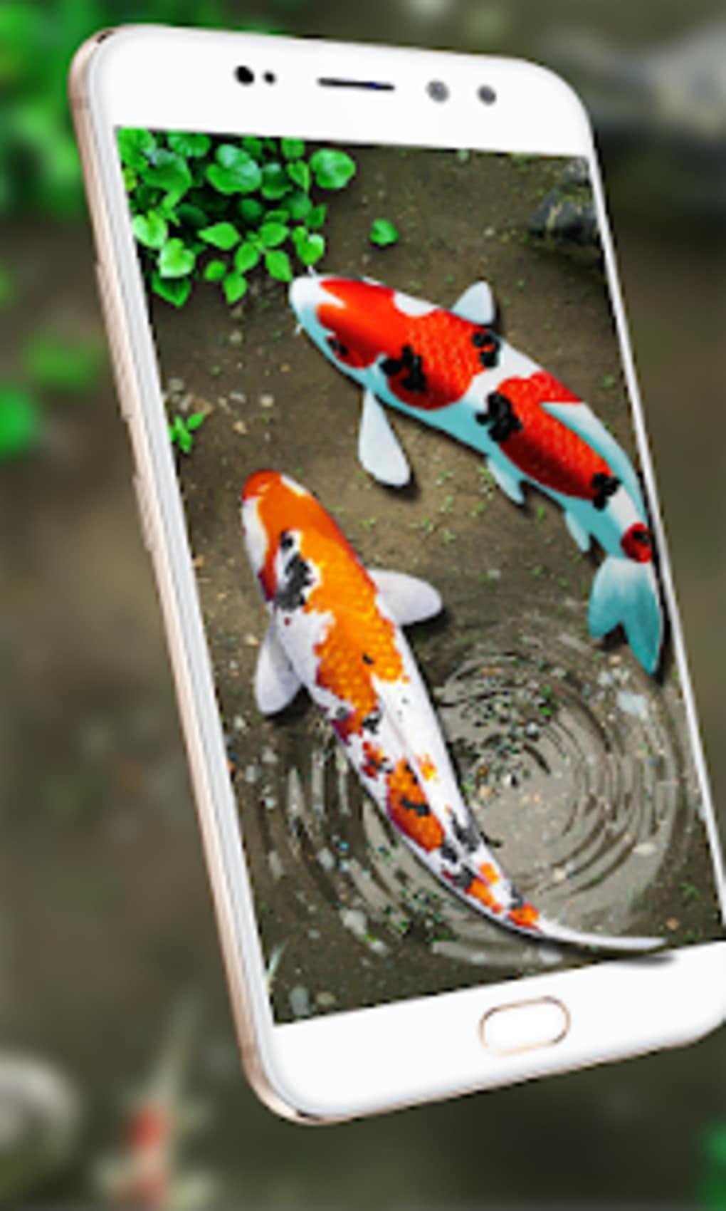 Fish live wallpaper 3d aquarium koi pond 2018 pro for android.