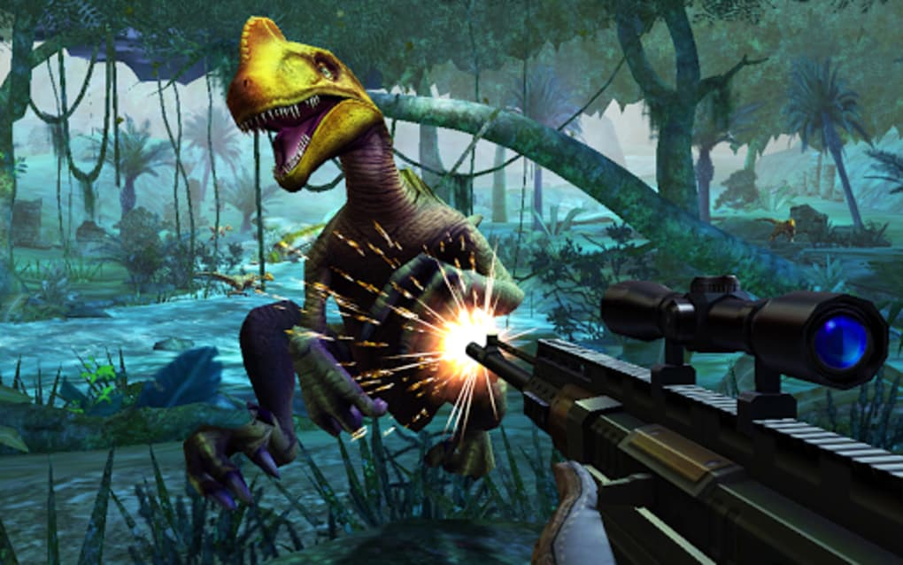 Dino Hunter: Deadly Shores for Android - Download