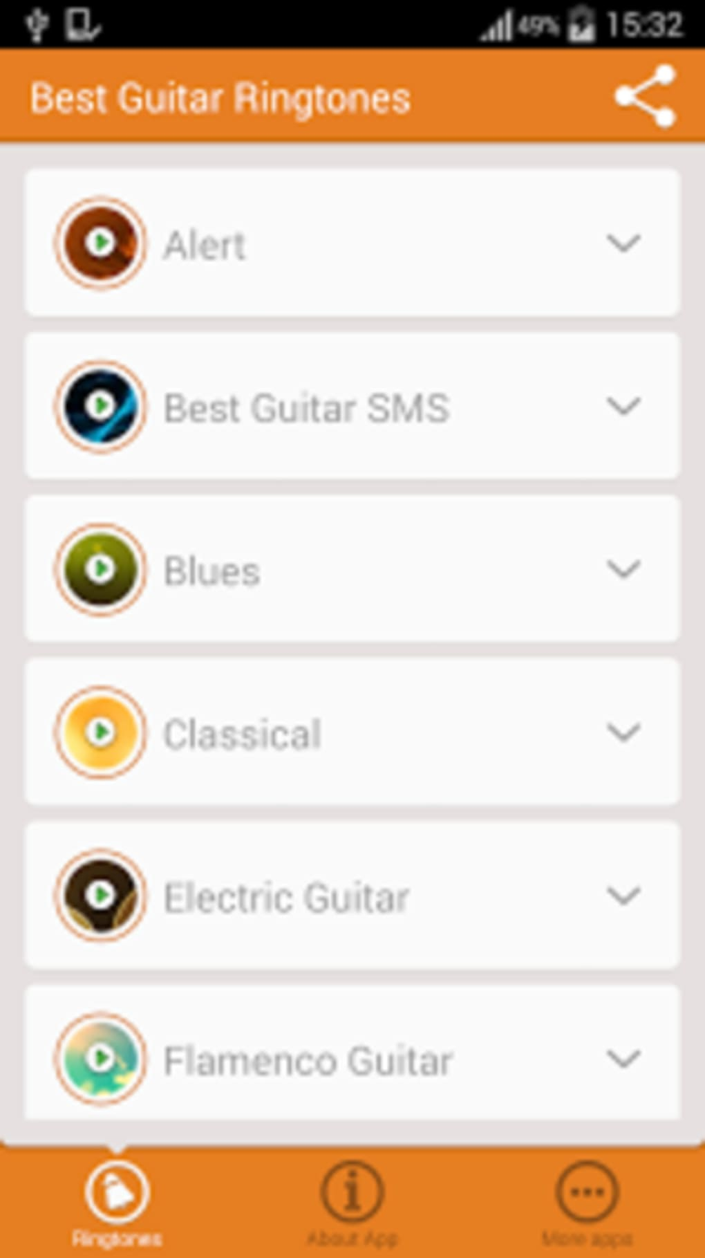 Best Guitar Ringtones for Android - Download