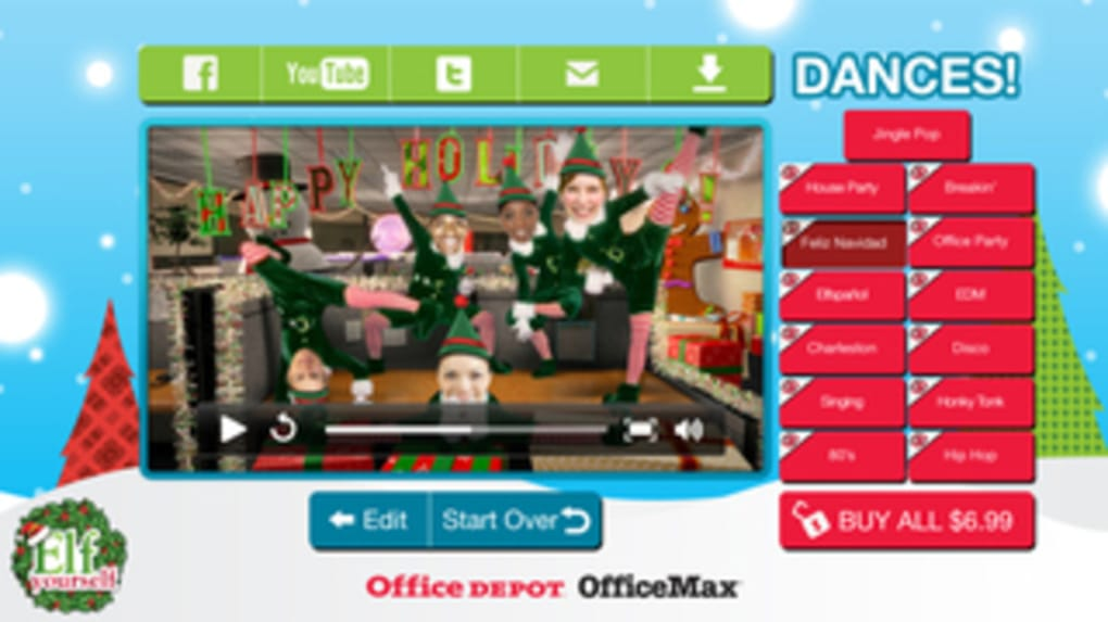 Elf yourself free app for iphone