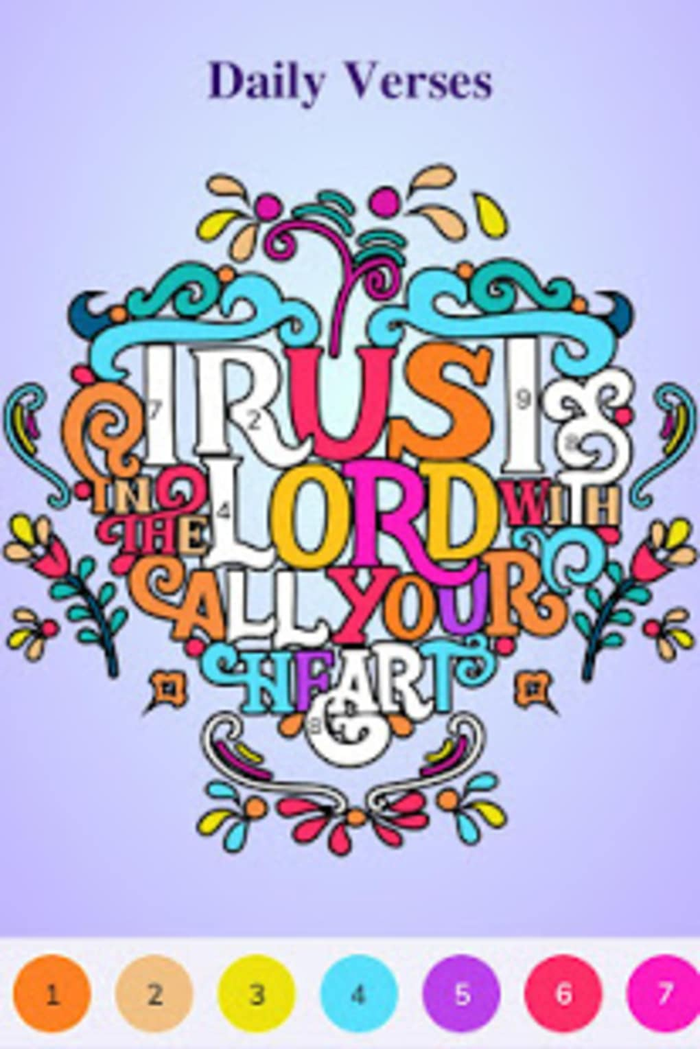 Bible Coloring Color By Number Free Bible Game APK for ...