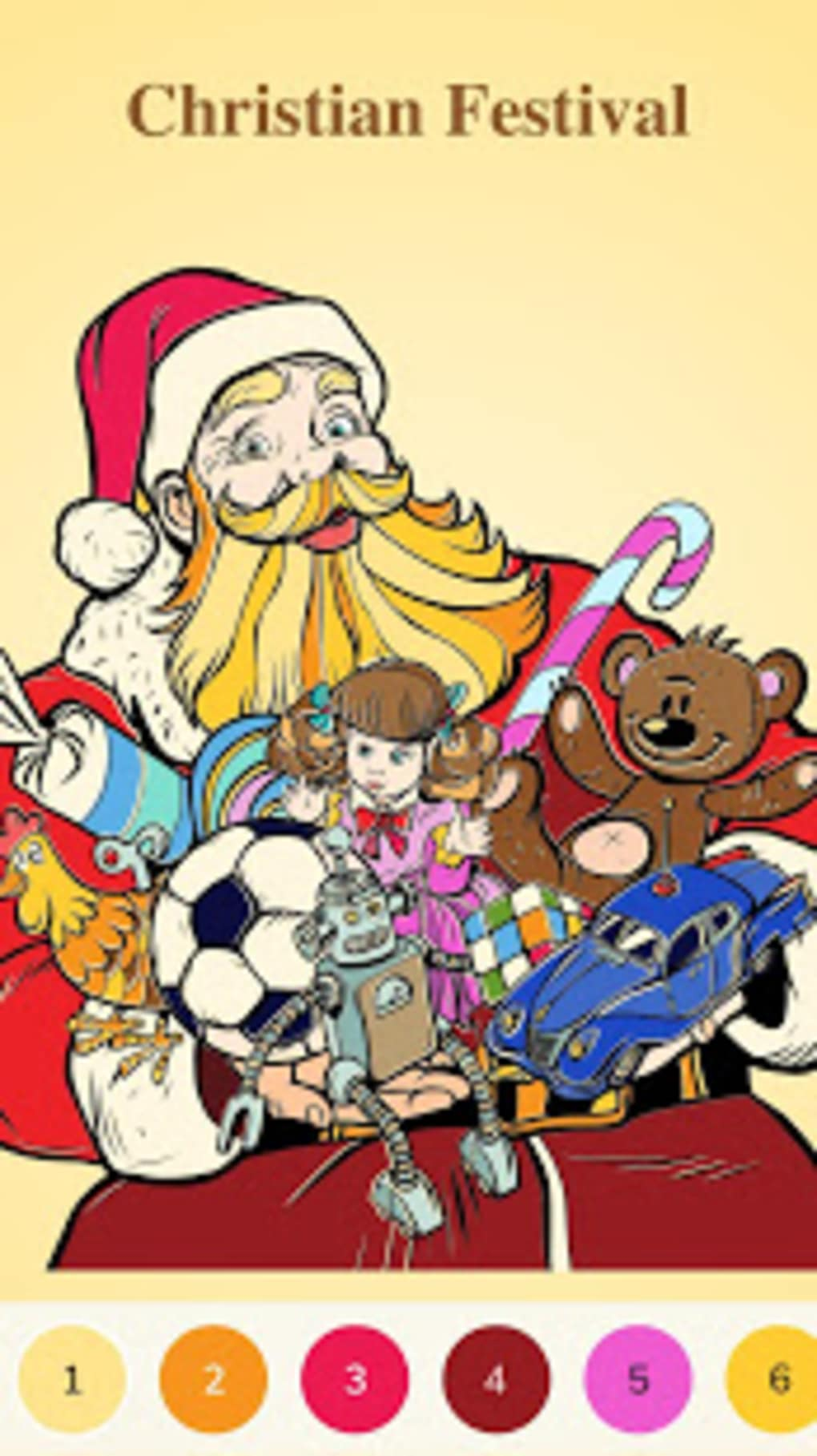 Bible Coloring Color By Number Free Bible Game for Android - Download