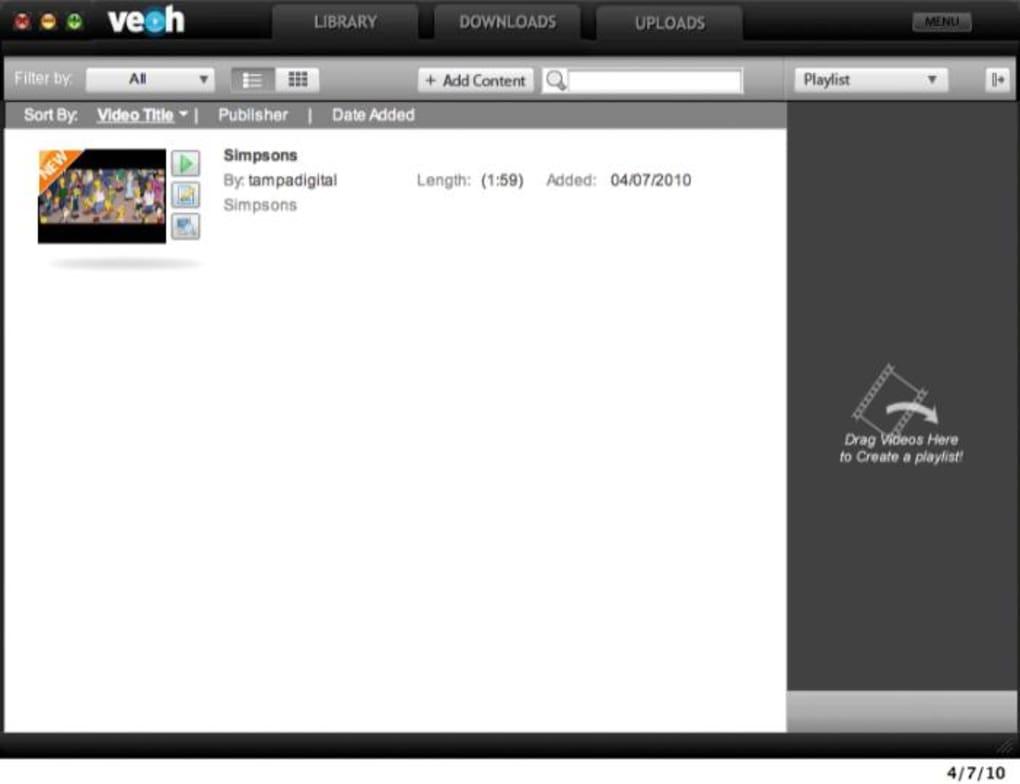 veohtv web player gratis