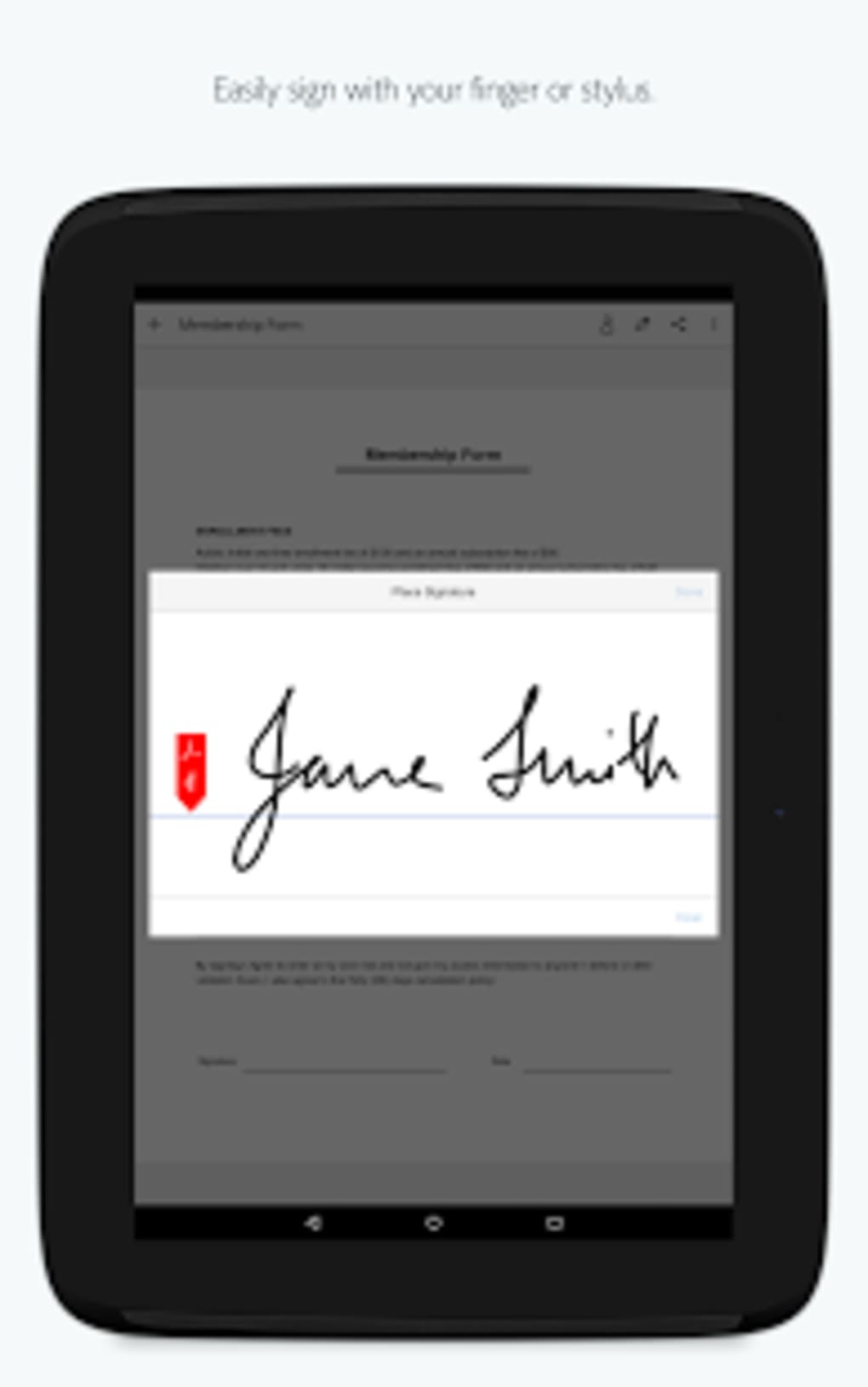 Adobe Fill & Sign for Android - Download
