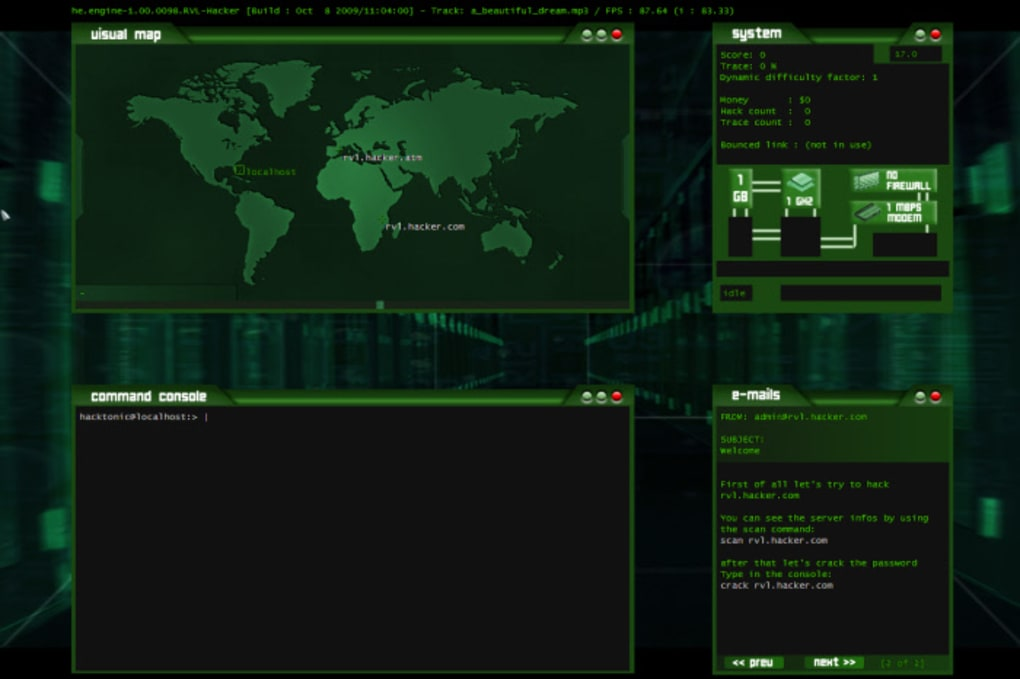 Hacker Spiel Pc