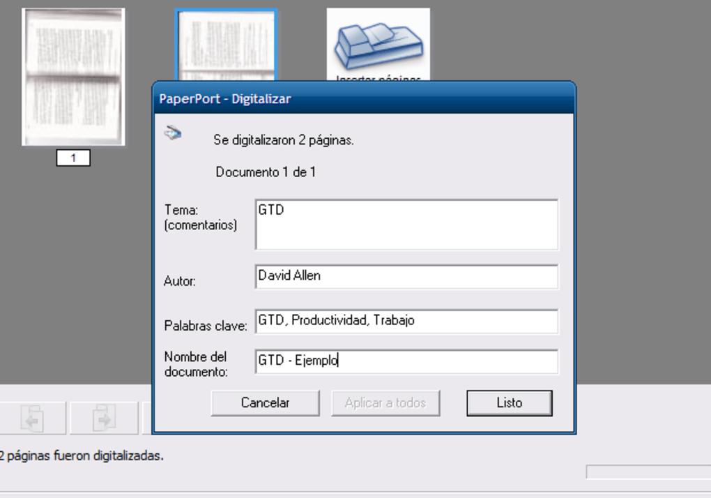 PaperPort - Descargar