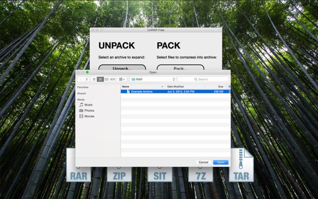 UnRAR Free for Mac - Download