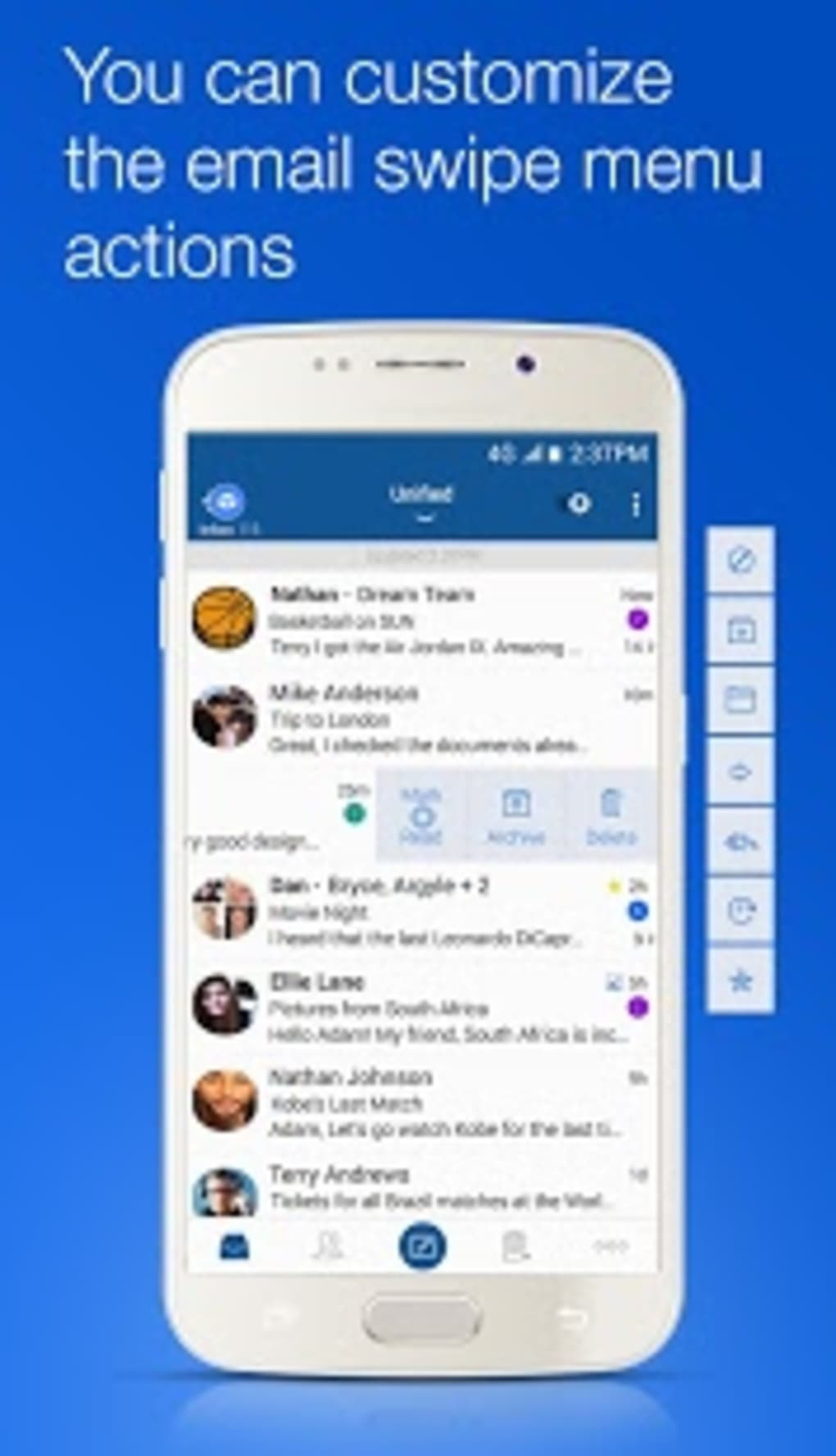 Blue Mail - Email Mailbox for Android - Download