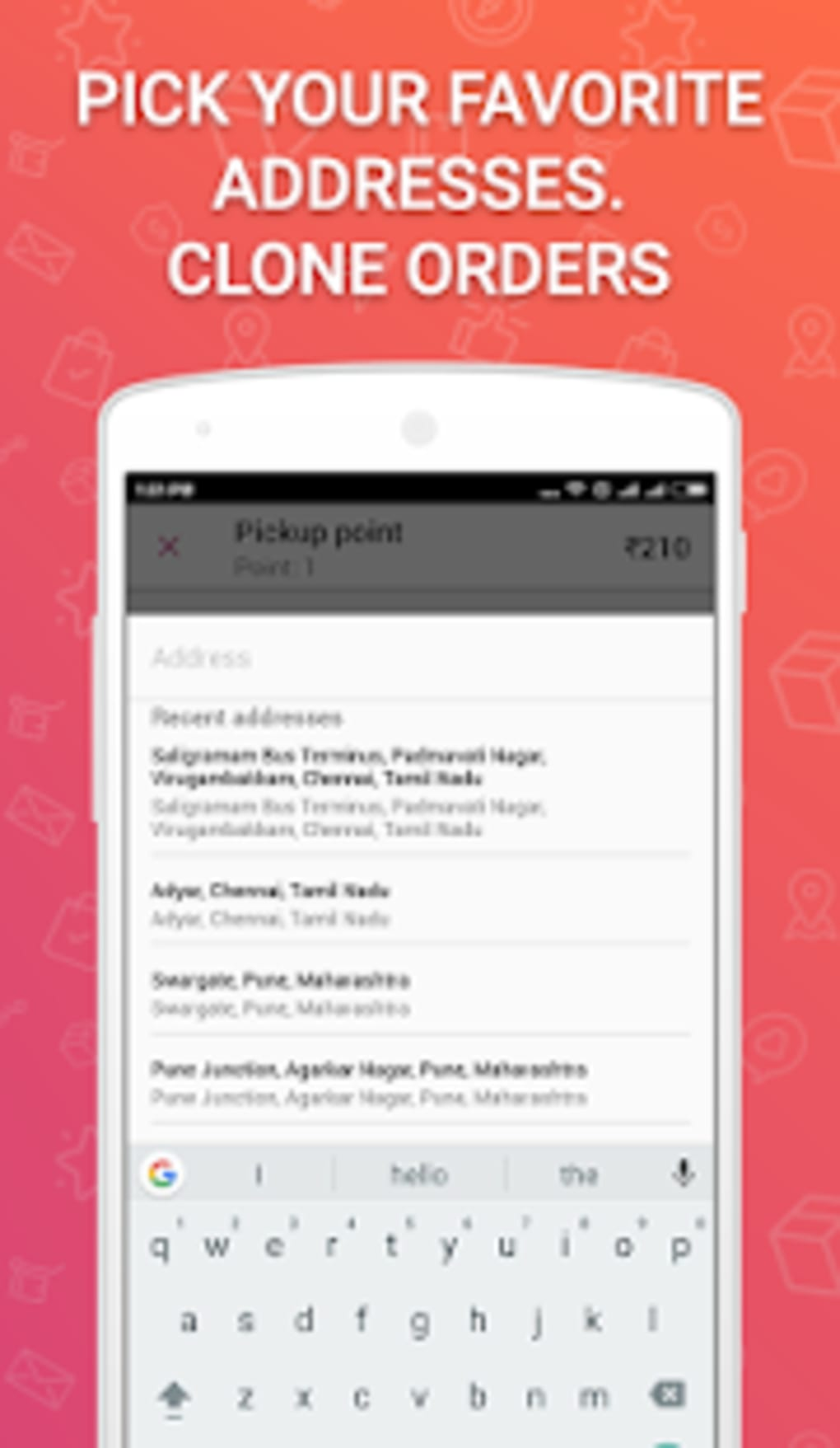 Wefast Courier Delivery Service for Android - Download