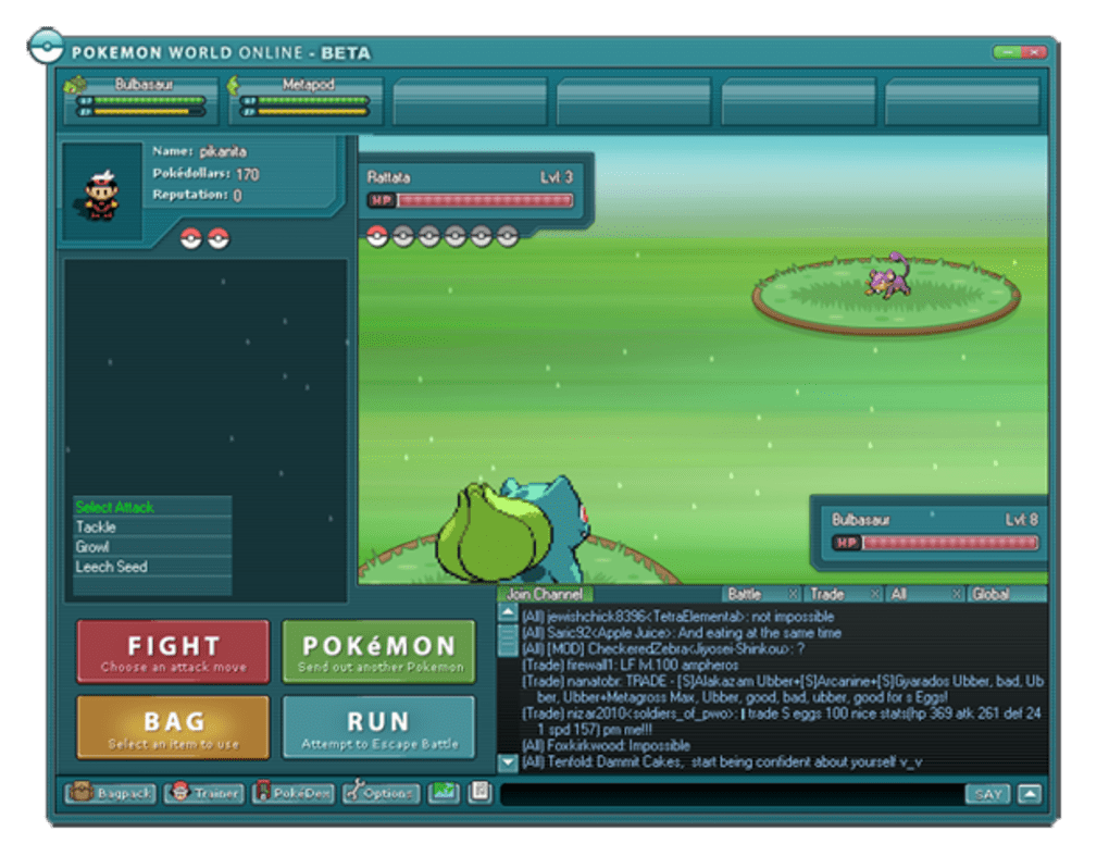 Pokemon world online descargar pokemon world online pros gumiabroncs Images