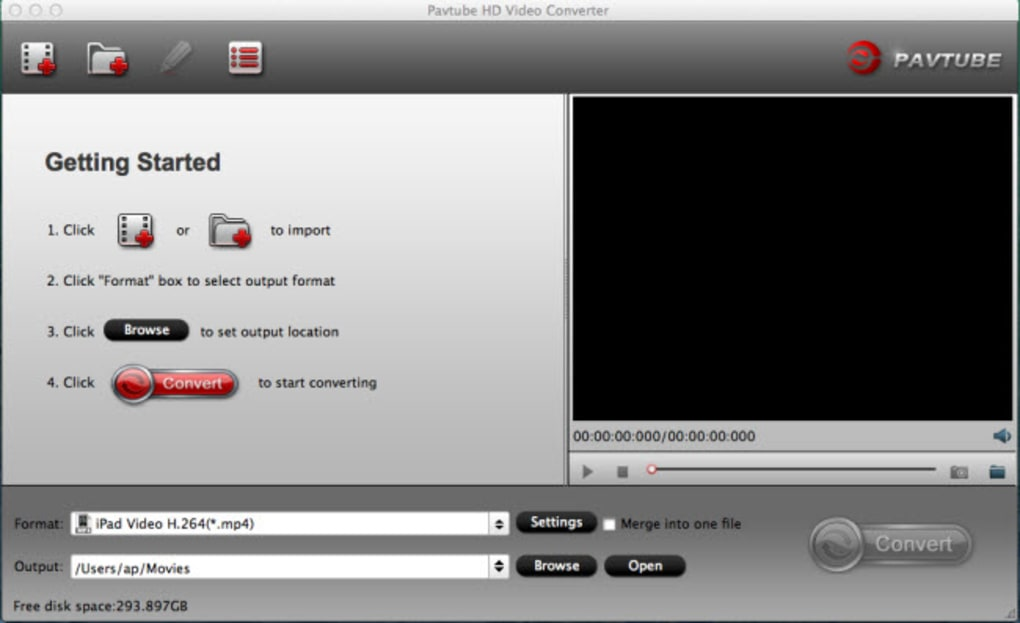 Pavtube HD Video Converter for Mac (Mac) - Download