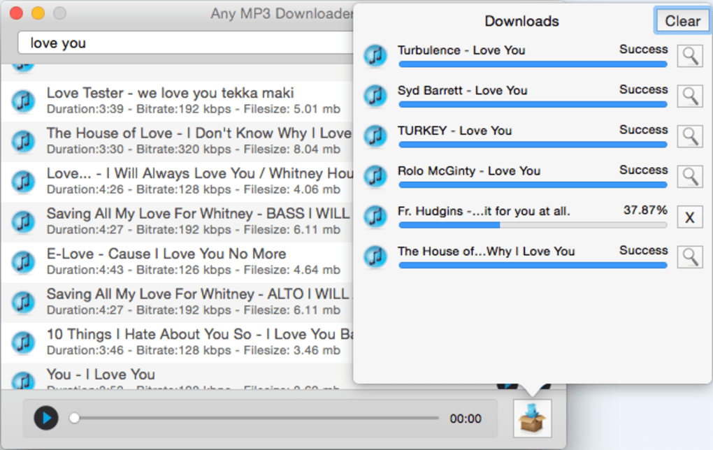 Any MP3 Downloader for Mac - Download