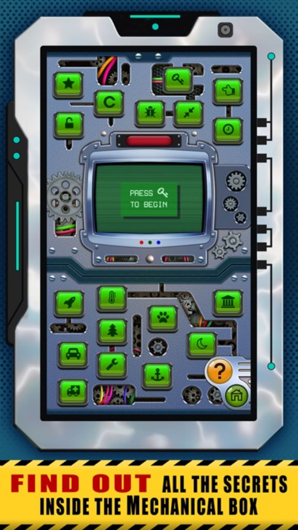 Mechanical Box for iPhone - Download