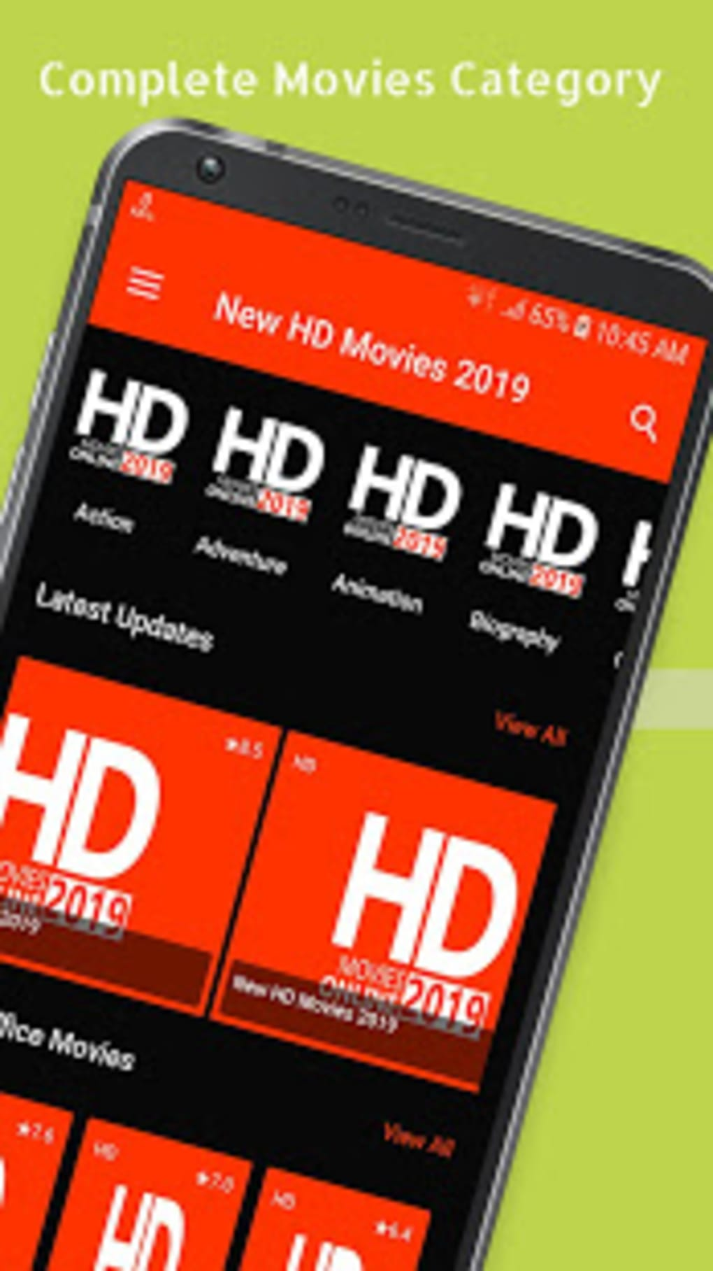 download new release movies on android