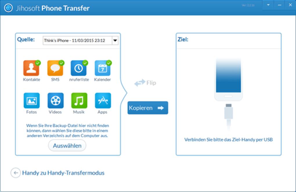 handy datentransfer software