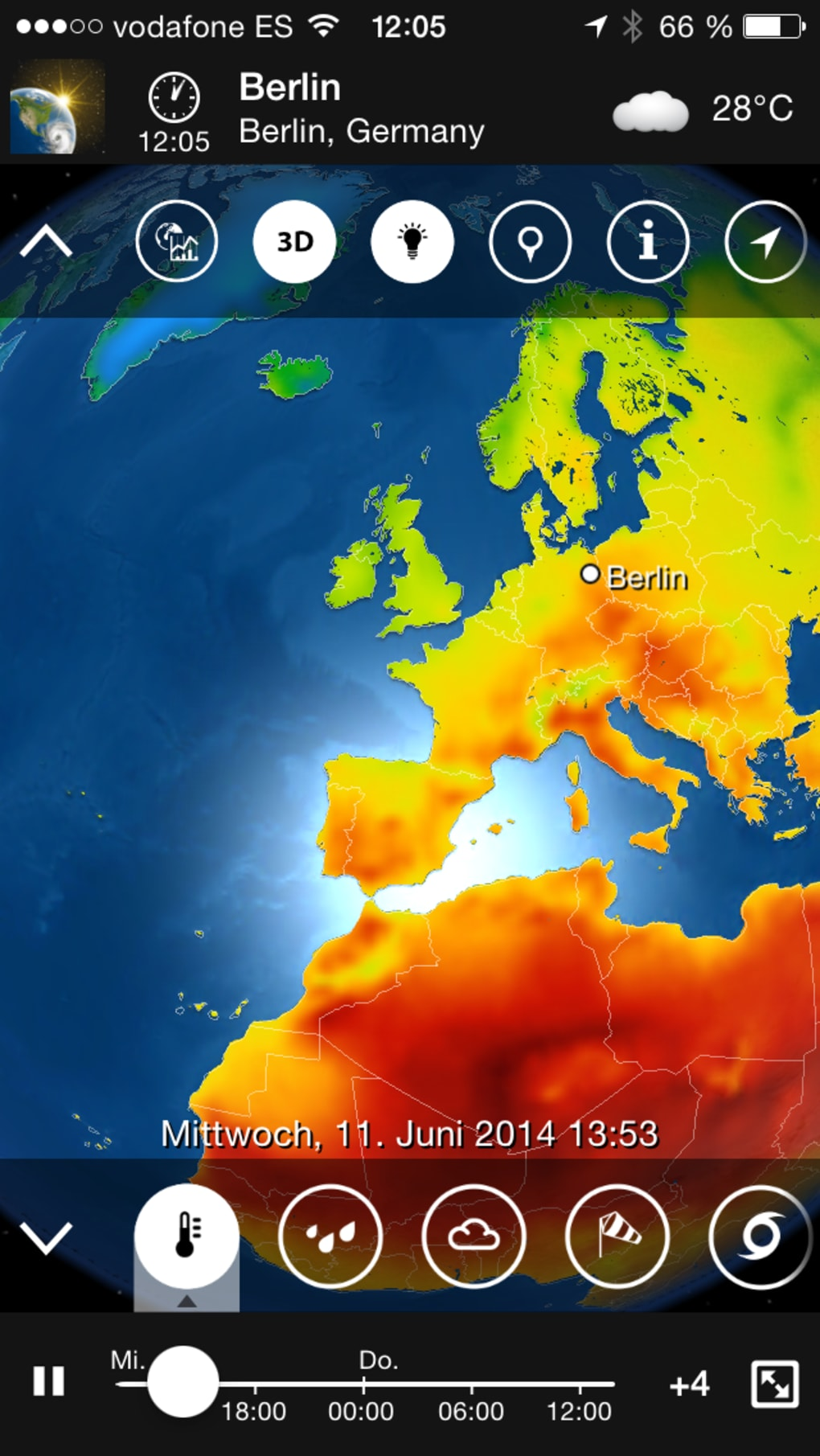 meteoearth for iphone