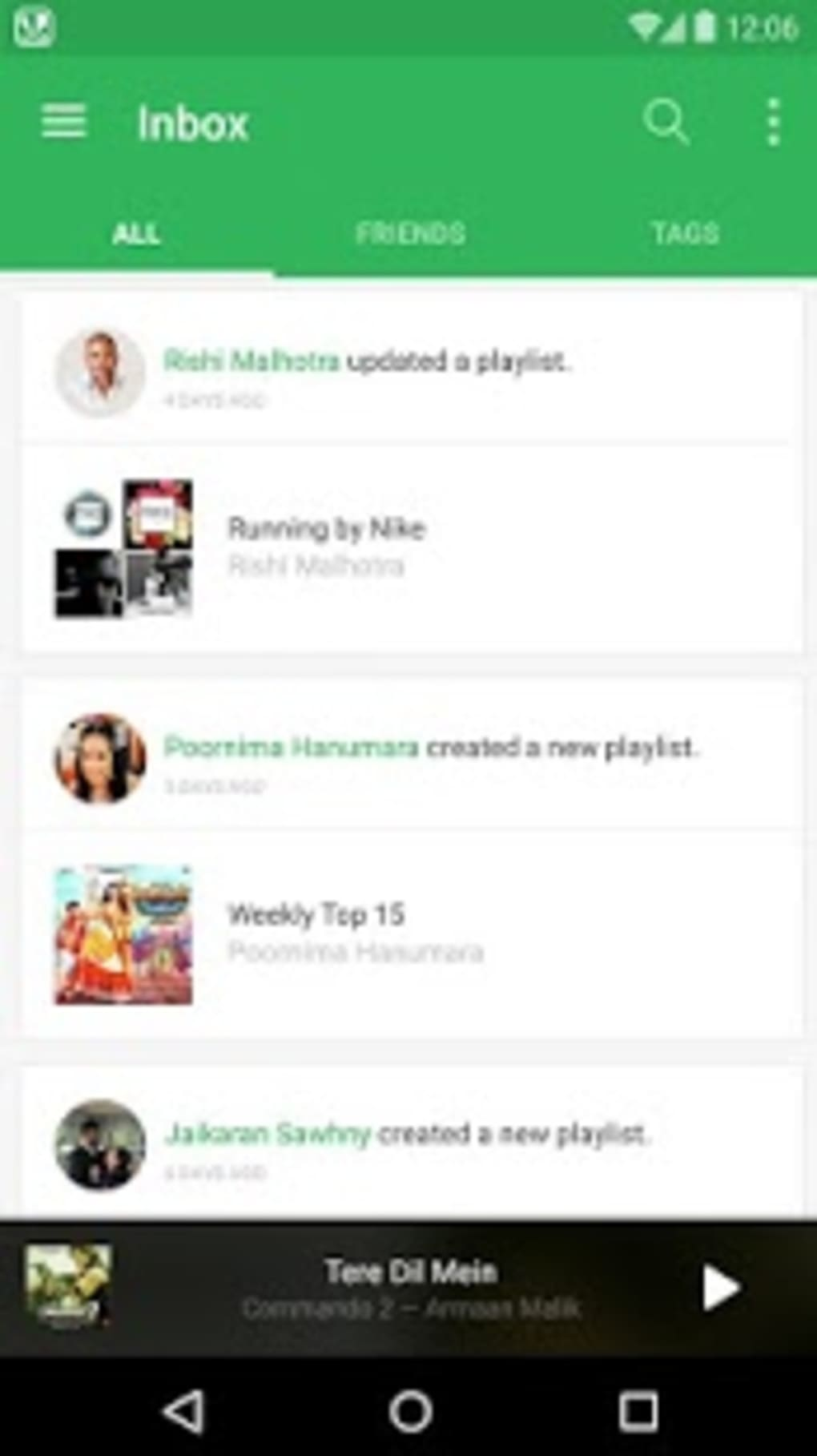 Saavn Music & Radio for Android - Download