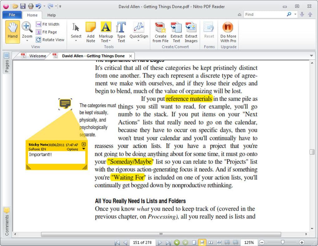 nitro pdf reader free mac