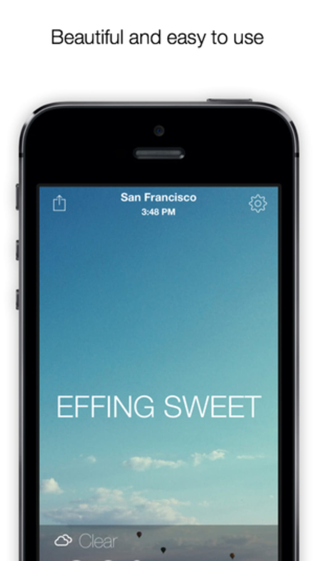 The Effing Weather for iPhone - Download