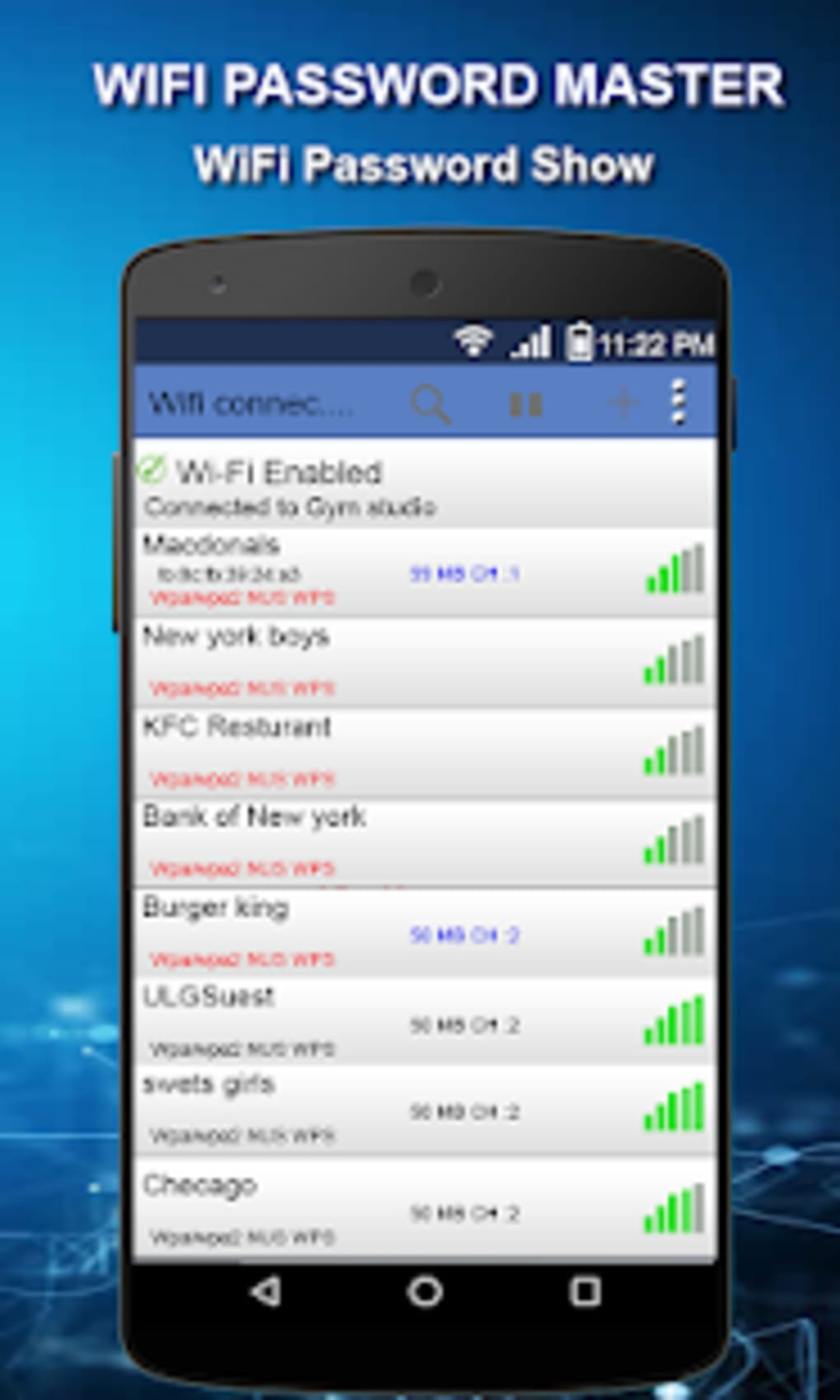 WiFi Password Show - Wifi Password Master for Android - Download