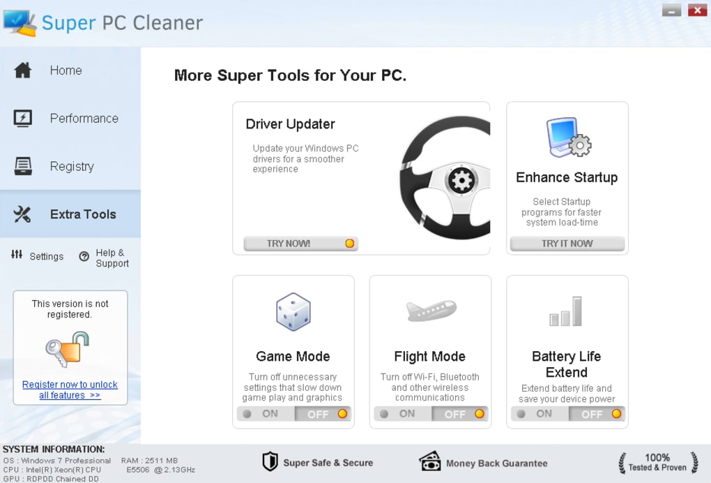 super cleaner antivirus free download for pc