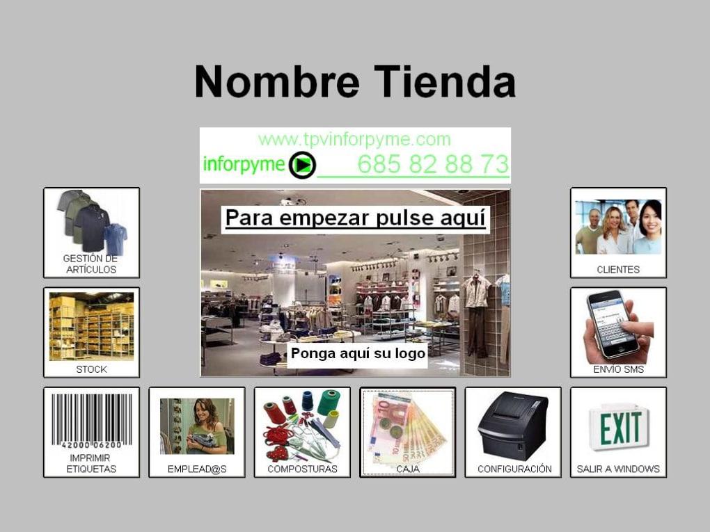 TPVinforpyme para Tienda de Ropa y Complementos - Descargar 09c20d30a5926