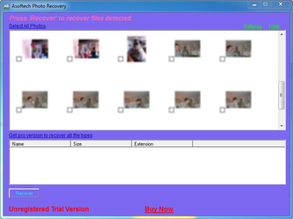 asoftech photo recovery gratuit
