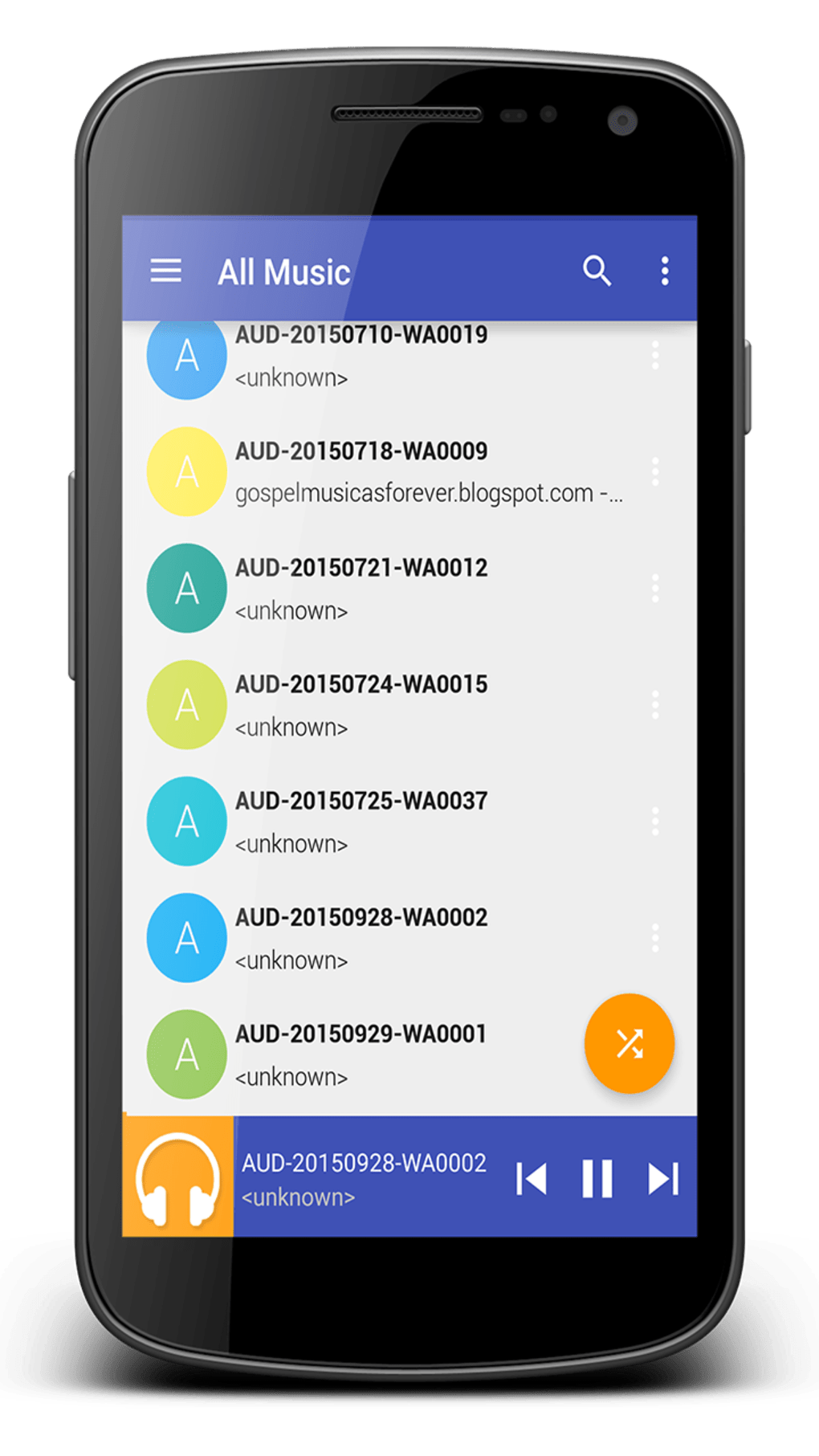 Ares MP3 Music   for Android - Download