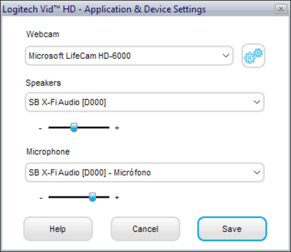 logiciel logitech vid hd