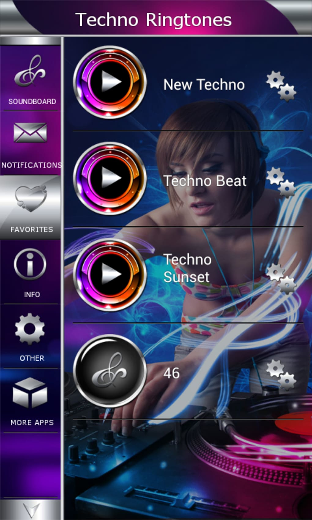 Techno Ringtones for Android - Download