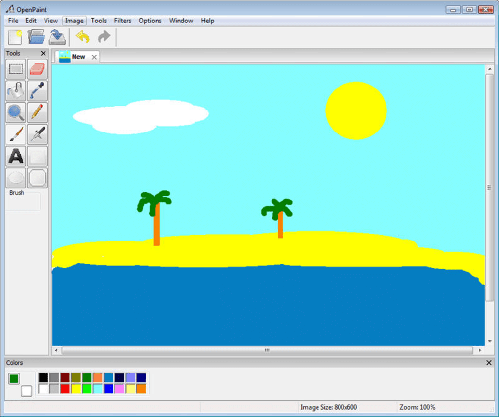 microsoft paint windows 7 download for xp