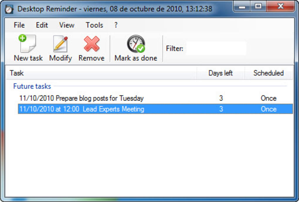 Desktop Reminder 2 Pro Activation Key