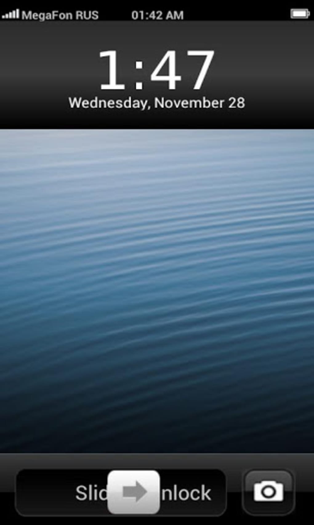 iphone 5 lock screen iphone lock screen theme para android 14540