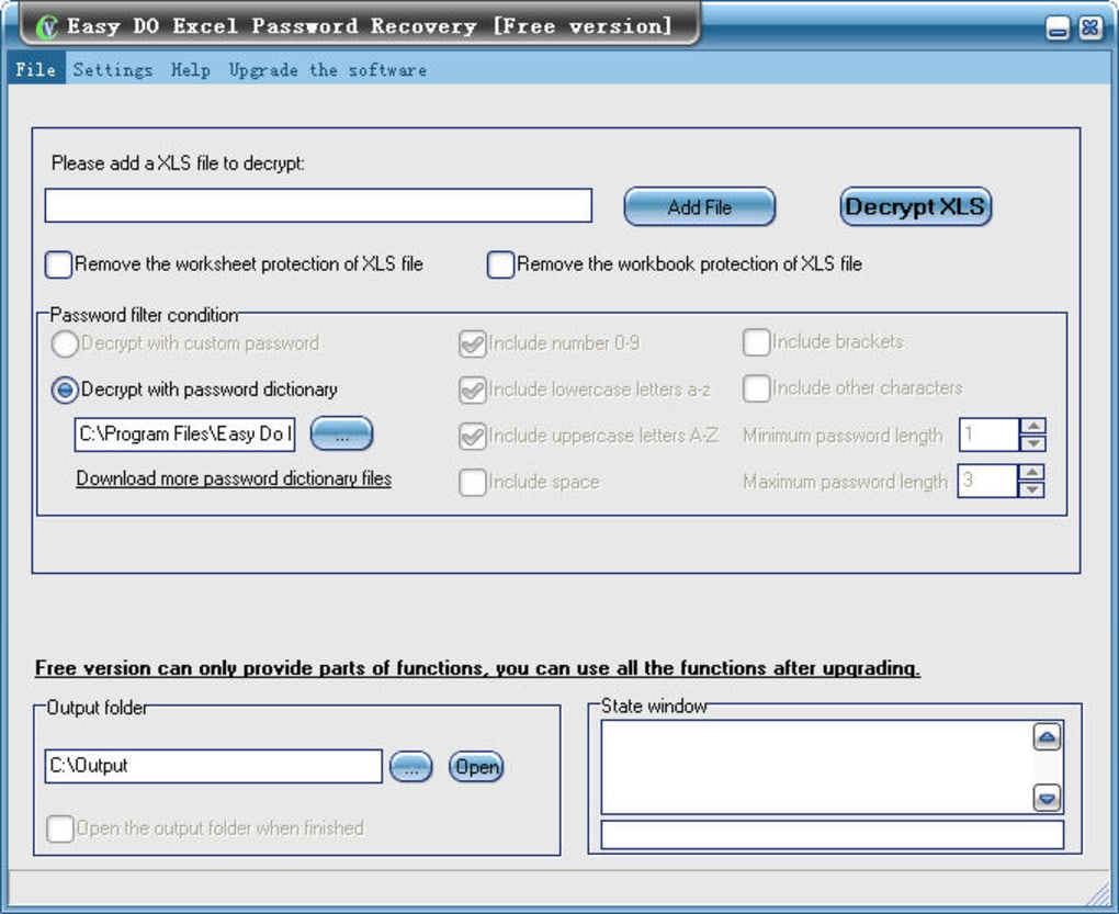 Free Easy Do Excel Password Recovery - Download