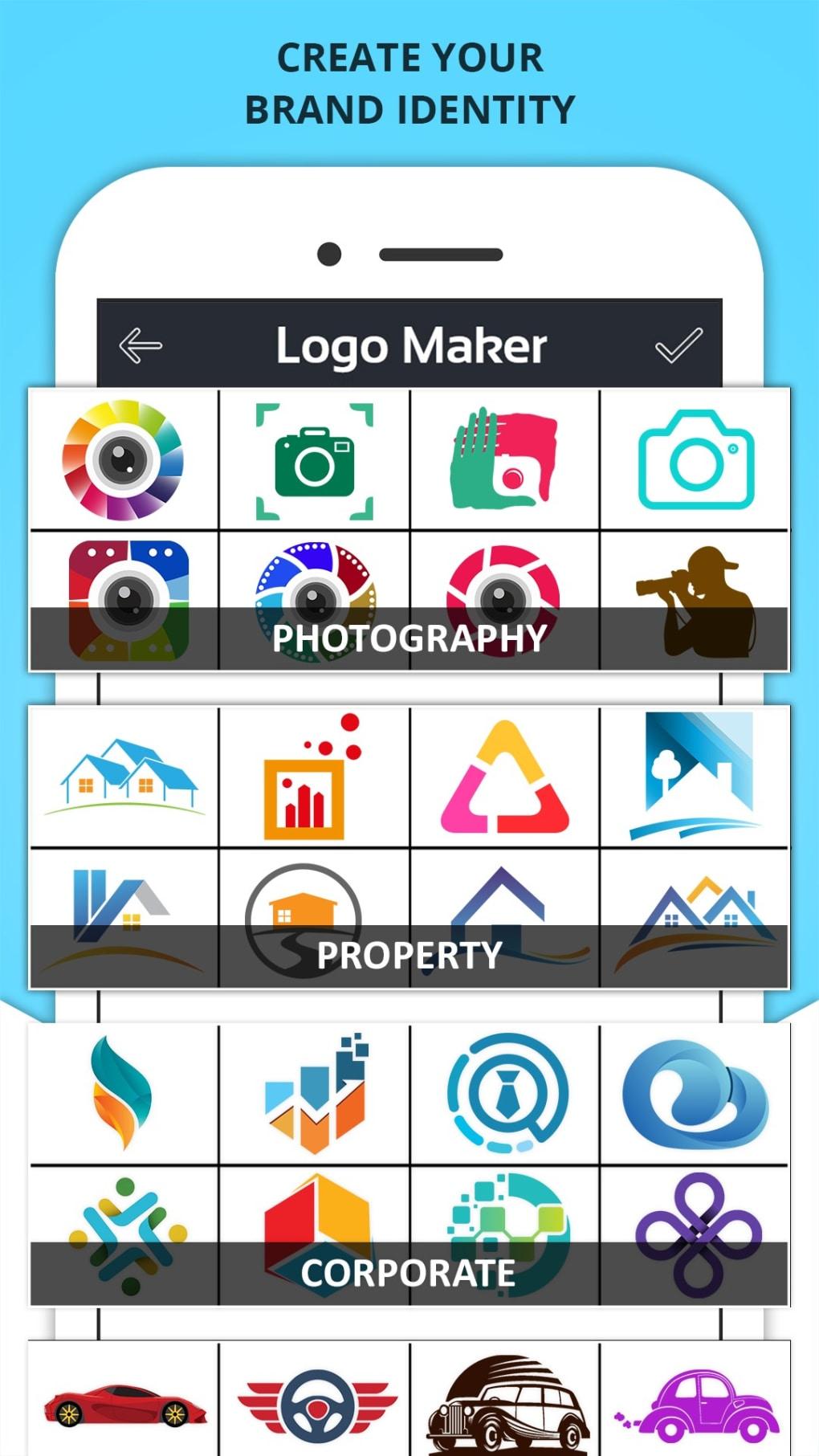 Logo Maker - Logo Creator, Generator & Designer - Download