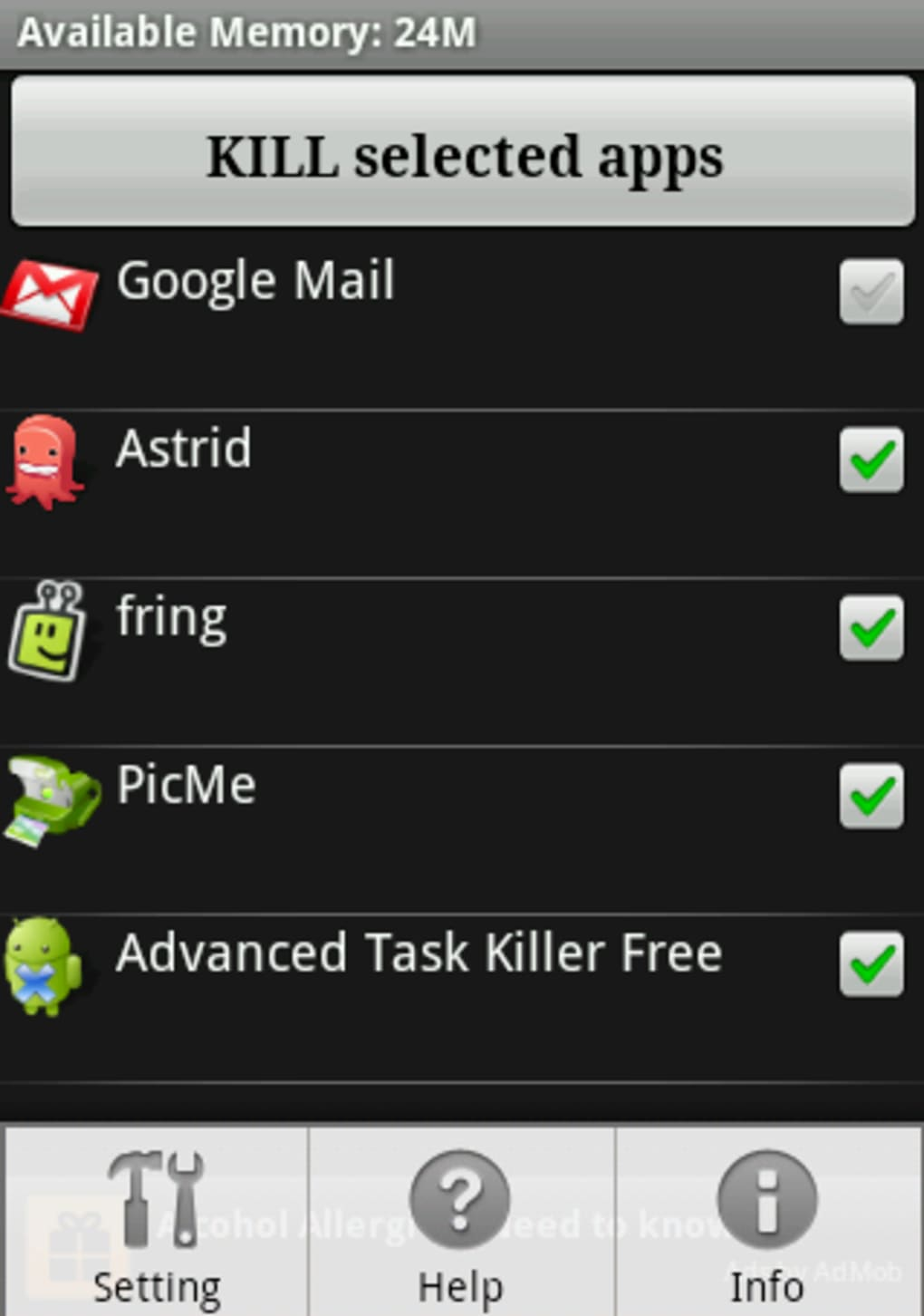 Advanced Task Killer for Android - Download