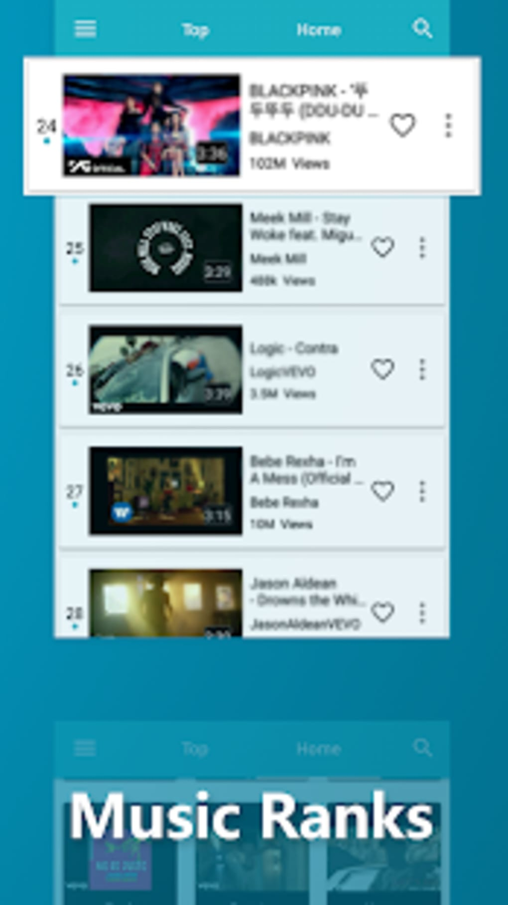 Blue Tunes - Wonderful Music Music Videos App for Android - Download