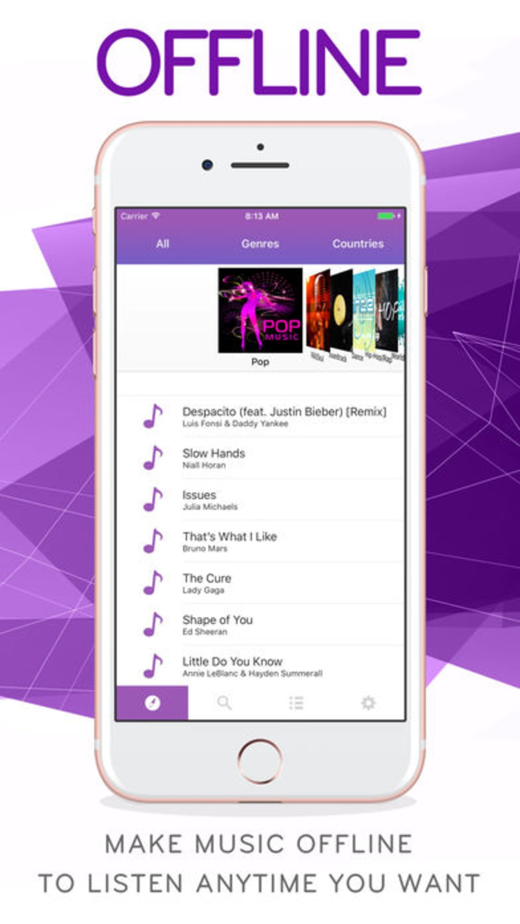 Music FM MP3 Offline Player for iPhone - Download