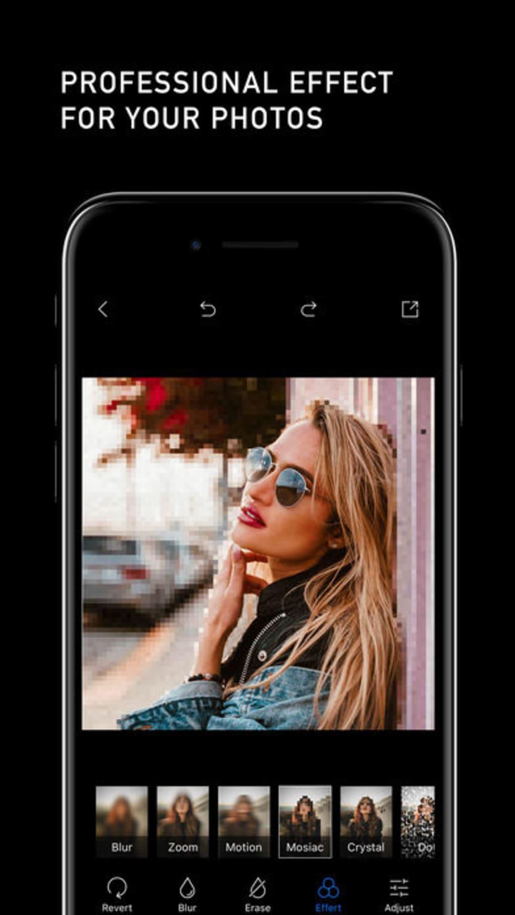 Blur Photo Editor Background para iPhone - Download
