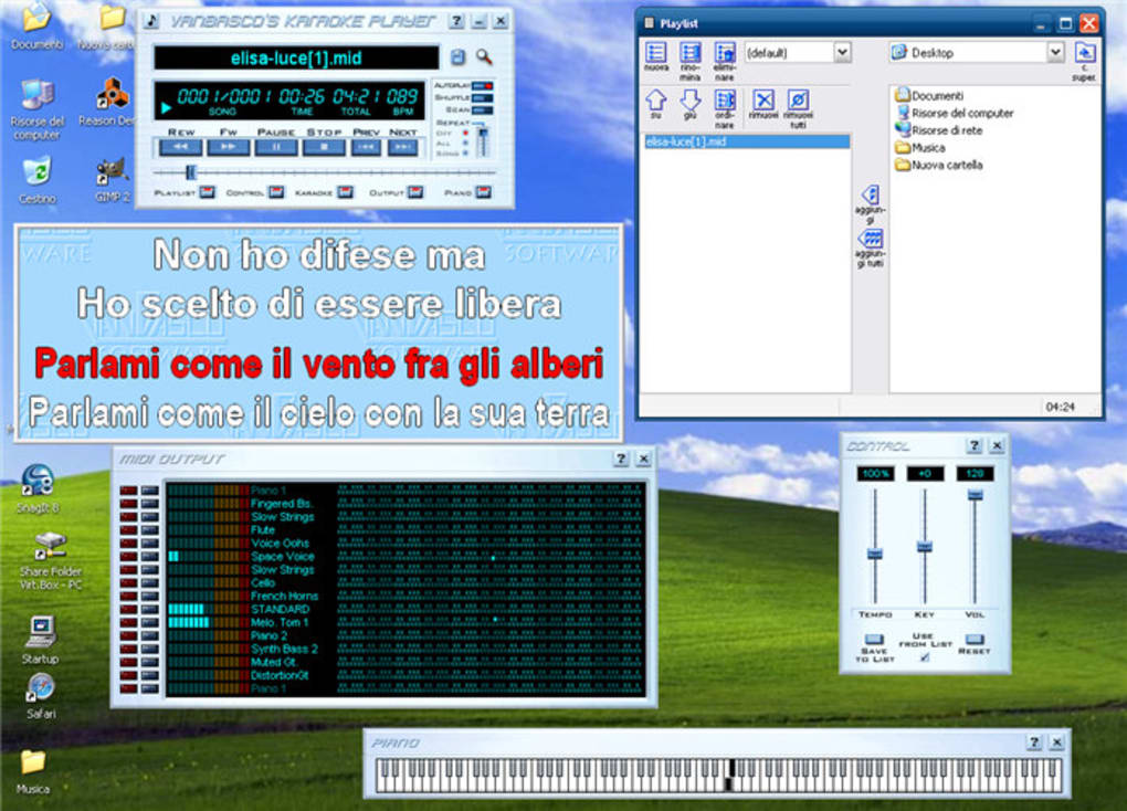 vanbasco karaoke italiano per windows 7