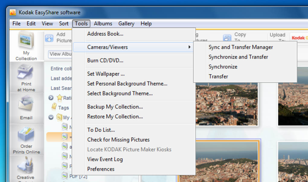 programa kodak easyshare c142
