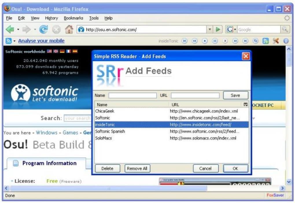 Simple RSS Reader - Download