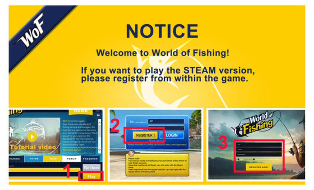 World of Fishing - Download
