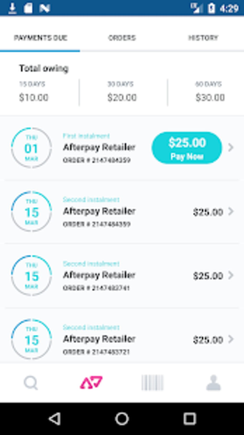 Afterpay for Android - Download