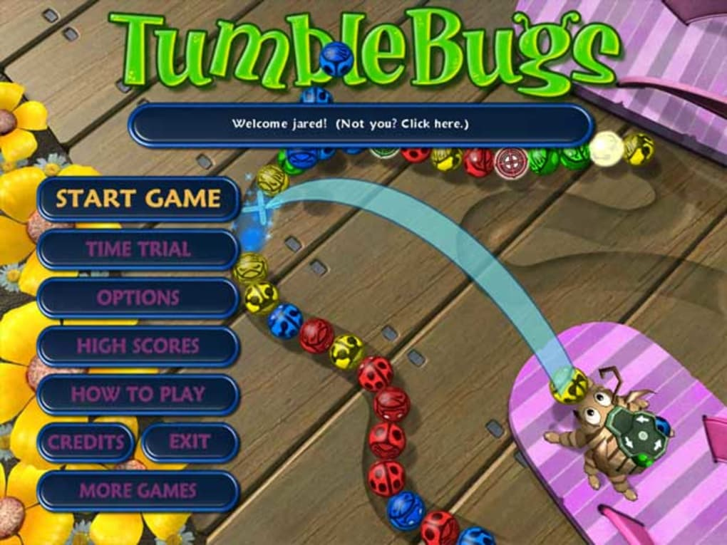 zuma tumblebugs gratuit