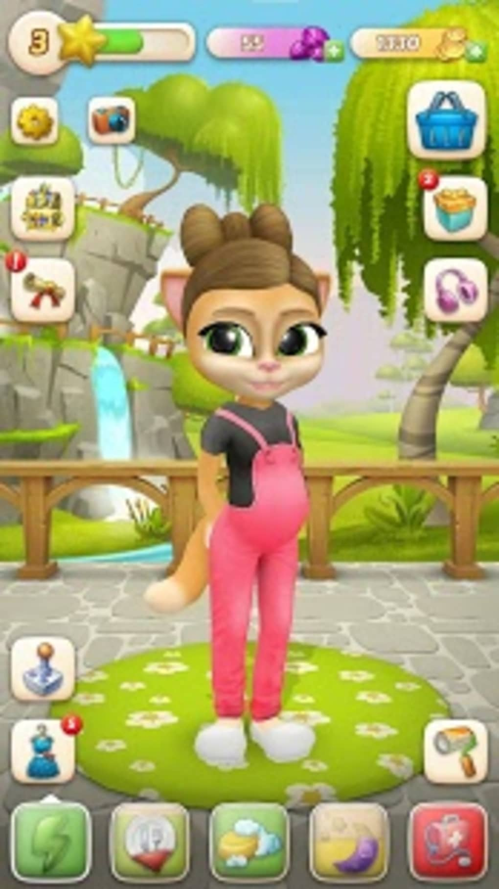 Pregnant Talking Cat Emma for Android - Download