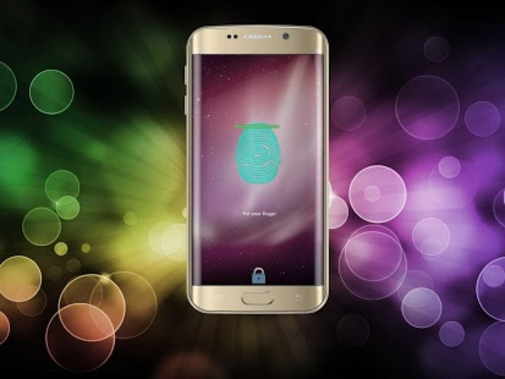 Fingerprint Lock screen for Android - Download