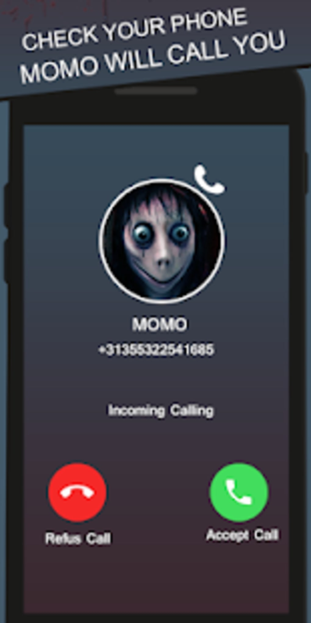 fake video chat with calling from momo - prank for Android - Download